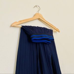A New Day Pleated midi skirt